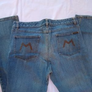 Michael Kors | straight leg studded M jeans